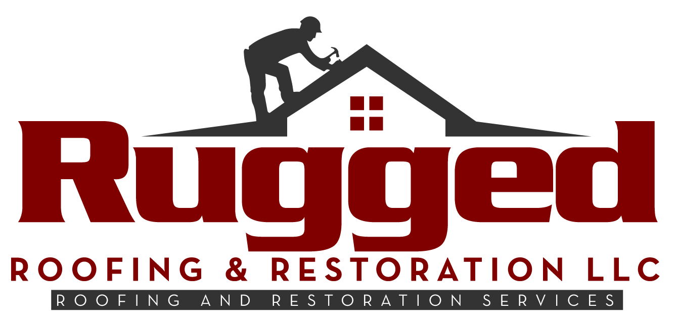 rugged roofing logo